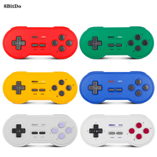цена на 8Bitdo SN30 Wireless Switch Controller Bluetooth Gamepad oystick For Nintendo Switch PC Android MacOS Steam