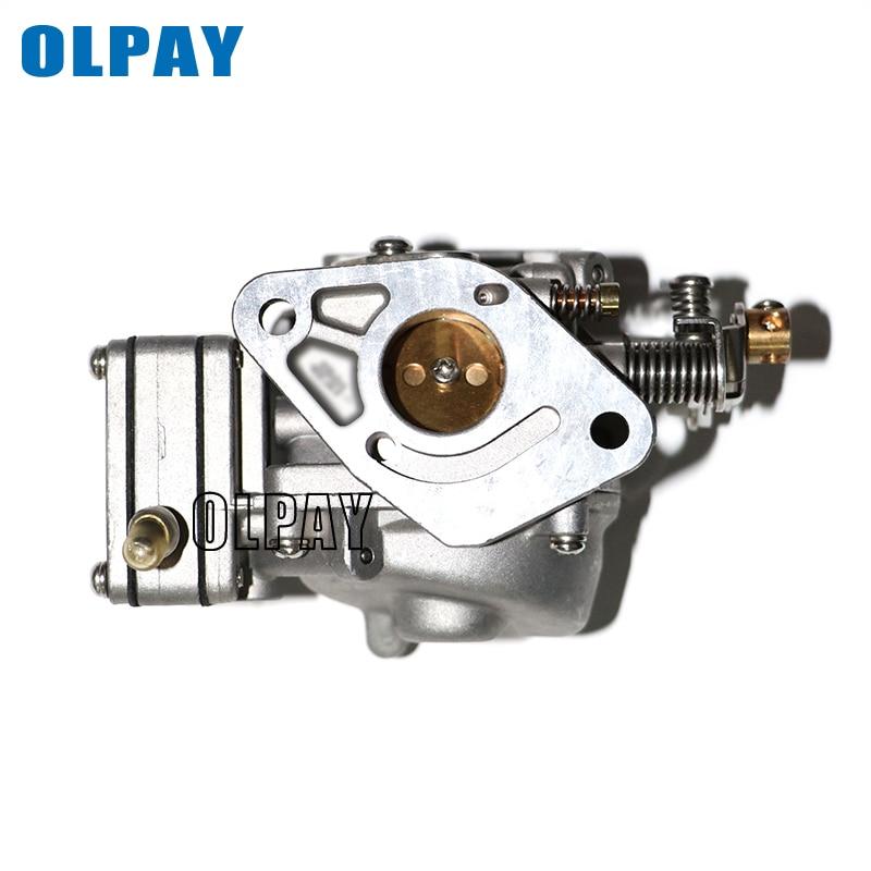Carburateur Assy pour moteur de bateau Hangkai 2 temps 5hp 6hp