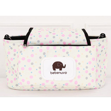 Bottle Holder Stroller Bag Hanging Diaper Store Nylon Sundries Organizer Baby Carriage Adjustable Mummy Bag Large Capacity