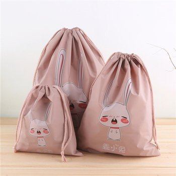 Pump Line Waterproof Clothes Storage Bag Travel Packing Bag image
