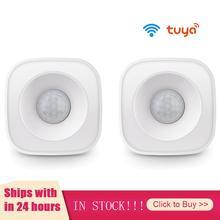 Tuya Wifi Motion PIR Sensor Detector WIFI Movement Sensor Smart Life APP Wireless Home Security System Infrared Security Alarm