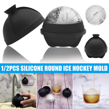 Ice-Ball-Molds Silicone Whiskey Food-Grade Cocktails with Built-In-Funnel for And And