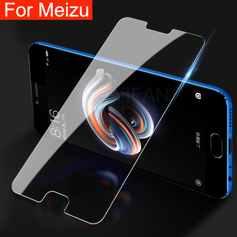 Protective Glass for Meizu M6 M5 M3 M8 M9 Note Tempered Glas Screen Protector on Maisie Meilian Not M 3 5 6 8 9 3m 5m 6m 8m 9m image