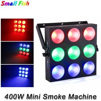 Mini 9PCS LED Matrix Lighting RGB Colors Professional Stage Effect Light DMX512 Disco Wash Light For Dance Party Show DJ Xmas djworld led 5x30w rgb matrix dmx512 stage effect lighting for dj disco party dance floor nightclub bar and wedding decoration