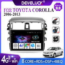 Android 9.0 2Din Car Radio Navigation GPS Multimedia video Player For Toyota Corolla E140 E150 2006 2007-2013 2 din stereo DVD