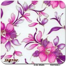 ITAATOP Blume PVA Aqua Print TSHY434 1 0,5 M * 2/10/20M Hydrographie Dipping Film