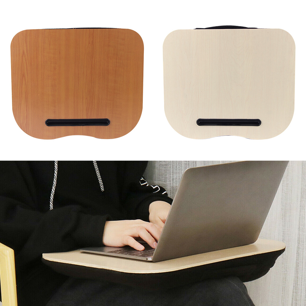Cushion Pillow Stand Outdoor Lap Tray Home Laptop Desk Computer Multifunction Portable Office Knee Travel Convenience