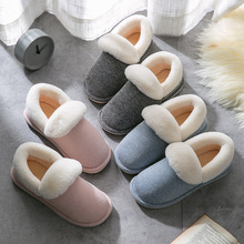 High Quality Women Winter Faux Fur Indoor Home Slipper Light Couple Warm shoes Non-slip House Floor Slipper Slip on Slipper 2019 kawai girl soldier sailor moon the cat luna bowknot home cotton flannel slipper ma am indoor non slip floor slipper girl s shoes