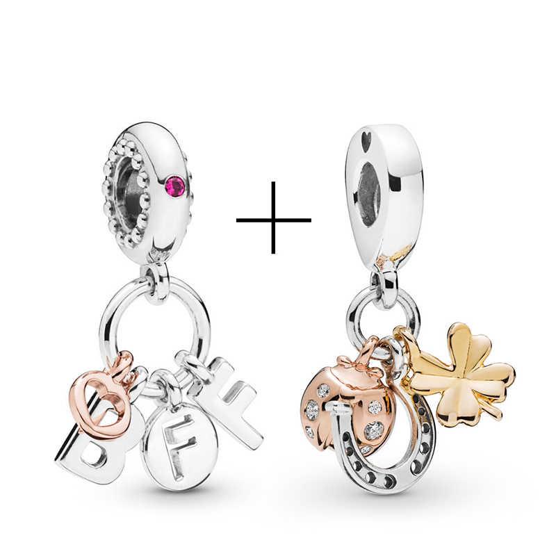 Dinosaure Simba rotatif perles de terre ajustement Pandora bracelet à breloques collier pour les femmes fabrication de bijoux dames bijoux accessoires