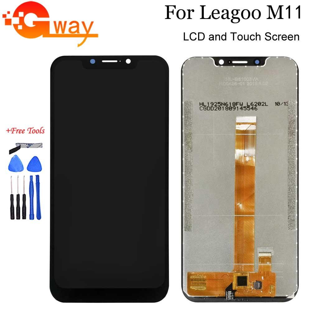 "6.18"" For Leagoo M11 LCD Display And Touch Screen Digitizer Panel Assembly New Replacement For Leagoo M11 With Tools