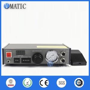 Image 3 - Free Shipping VMATIC Glue Dispensing Equipment Accurate Automatic Glue Machine With 2pcs 5L Pressure Tank Valve