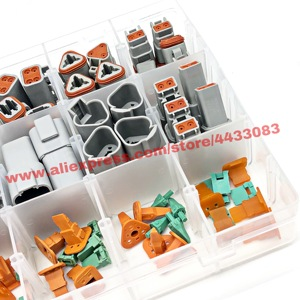 Image 4 - 225 stücke Deutsch DT automotive anschlüsse kit DT06/DT04 2/3/4/6/8/12 Pin + 16 18AWG Crimp Terminals + entfernung werkzeug 0411 336 1605