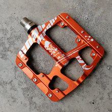 Hohe Qualität Utral Versiegelt Fahrrad Pedale Aluminium Körper Für Road Radfahren MTB Fahrrad Pedal 3 Lager 4,3 mountainbike Pedal