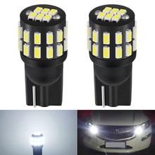 2x LED T10 W5W 168 194 التخليص مصابيح العلامات الجانبية لمرسيدس بنز W211 W221 W220 W163 W164 W203 C E SLK GLK CLS M GL 6000K