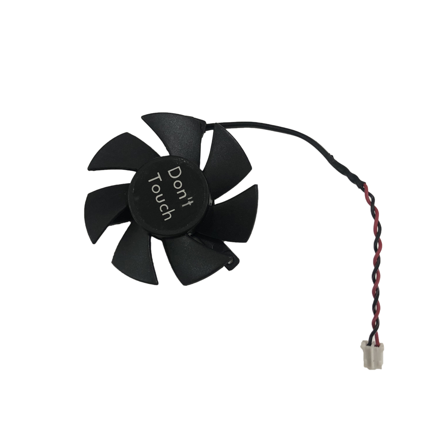 FD5010L12D GPU Cooler Fan For HIS HD6450 HD6570 R5-230 MSI N730K-1GD5 LP/OC GT730 XFX HD6570 HD-5450 R5 230 R7 250 Cooling image