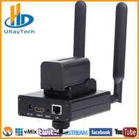 MPEG 4 H.264 HD Wireless WiFi HDMI Encoder IP Encoder H.264 For IPTV, Live Stream Broadcast, HDMI Video Recording RTMP Server