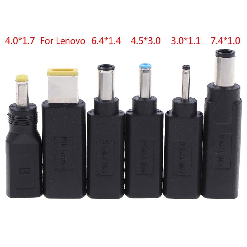 USB di Tipo C USB-C Femmina a DC 4.0 1.7mm/3.0*1.0/7.4*0.6 di Alimentazione Maschio adattatore di carica Adattatore del Connettore 4.0 millimetri/1.7 millimetri di Tipo-c
