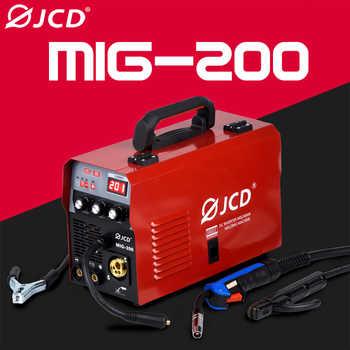 JCD 220V Mig Welder 200/160A IGBT Smart MMA Stick DC Inverter Arc Welder with Digital LCD Display for Beginner Welding Machine - DISCOUNT ITEM  50 OFF Tools