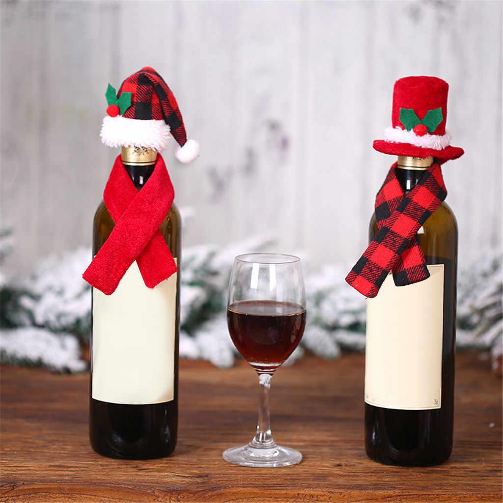Joyeux Noël Chat Métal Ornement Avec festif rouge Chapeau /& Écharpe Neuf JC190
