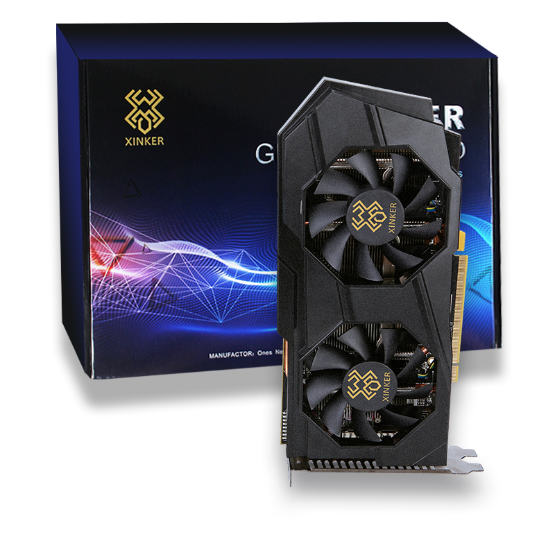 Graphics Card Rx570 8gb Gddr5 Pci Express X16 3.0 External Video Graphic Cards For Desktop Gaming ETH Mining image