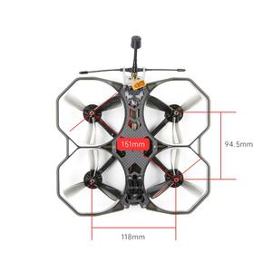 Image 4 - iFlight ProTek35 151mm 3.5inch 4S 6S CineWhoop Analog BNF with RunCam Nano2 2.1MM NTSC Cam/Beast Whoop F7 45A AIO for FPV