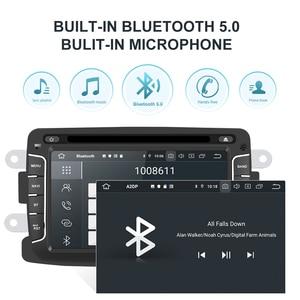 Image 3 - Isudar PX6 1 Din Android 10 รถวิทยุสำหรับDacia/Sandero/Duster/Renault/Captur/Lada/Xray 2/Logan 2 มัลติมีเดียPlayer RAM 4G