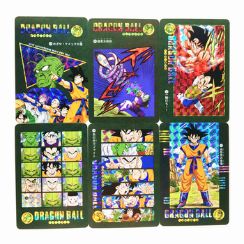 54pcs/set Super Saiyan Dragon Ball Z Stormy Situation No.3 Heroes Battle Card Ultra Instinct Goku Vegeta Game Collection Cards