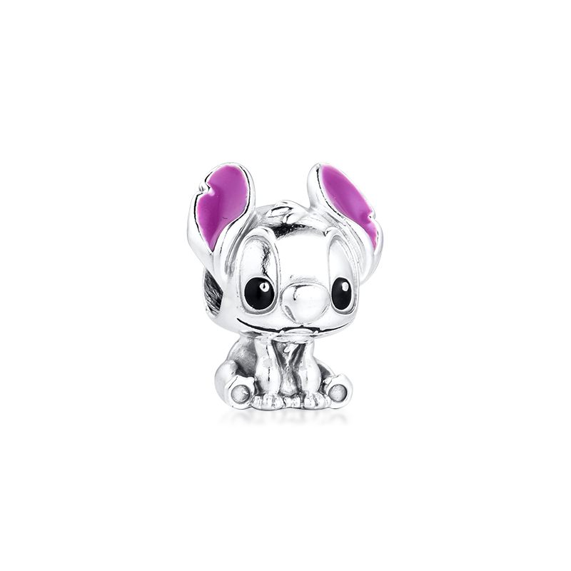 Acsesoris For Women Baby Lilo And Stitch Charm Sterling Silver Jewelry Fits Silver 925 Bracelets For Woman DIY Beads