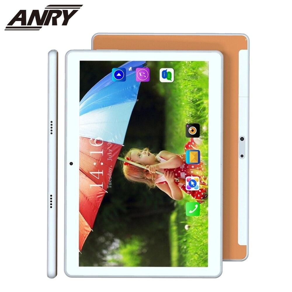 Планшет ANRY, 10 дюймов, Android 8,1, 4G, телефонные звонки, 2 ГБ + 32 Гб ПЗУ, Восьмиядерный, 5000 мАч, сенсорный экран, фаблет, GPS, Wi-Fi, планшетный ПК