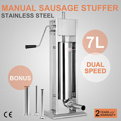 7L Sausage Filler Stuffer Maker sausage stuffer electric sausage stuffer hydraulic sausage stuffer manual sausage stuffer