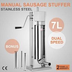 7L Sausage Filler Stuffer Maker sausage stuffer nz vertical sausage stuffer pneumatic sausage stuffer stuffer sausage machine