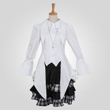 Anime Yosuga no Sora Kasugano Sora Cosplay Costume Girls Uniform Lolita Dress Outfit Carnival Halloween Party Costumes for Women 2
