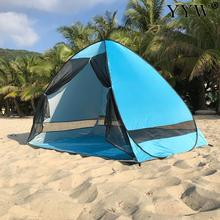 Beach Tents Outdoor Camping Shelter Uv-Protective Automatic Opening Tent Shade Ultralight Pop Up Tent For Outdoor Party Fishing automatic camping tent 2 persons beach tent uv protection shelter outdoor tent instant pop up summer tent fishing hiking