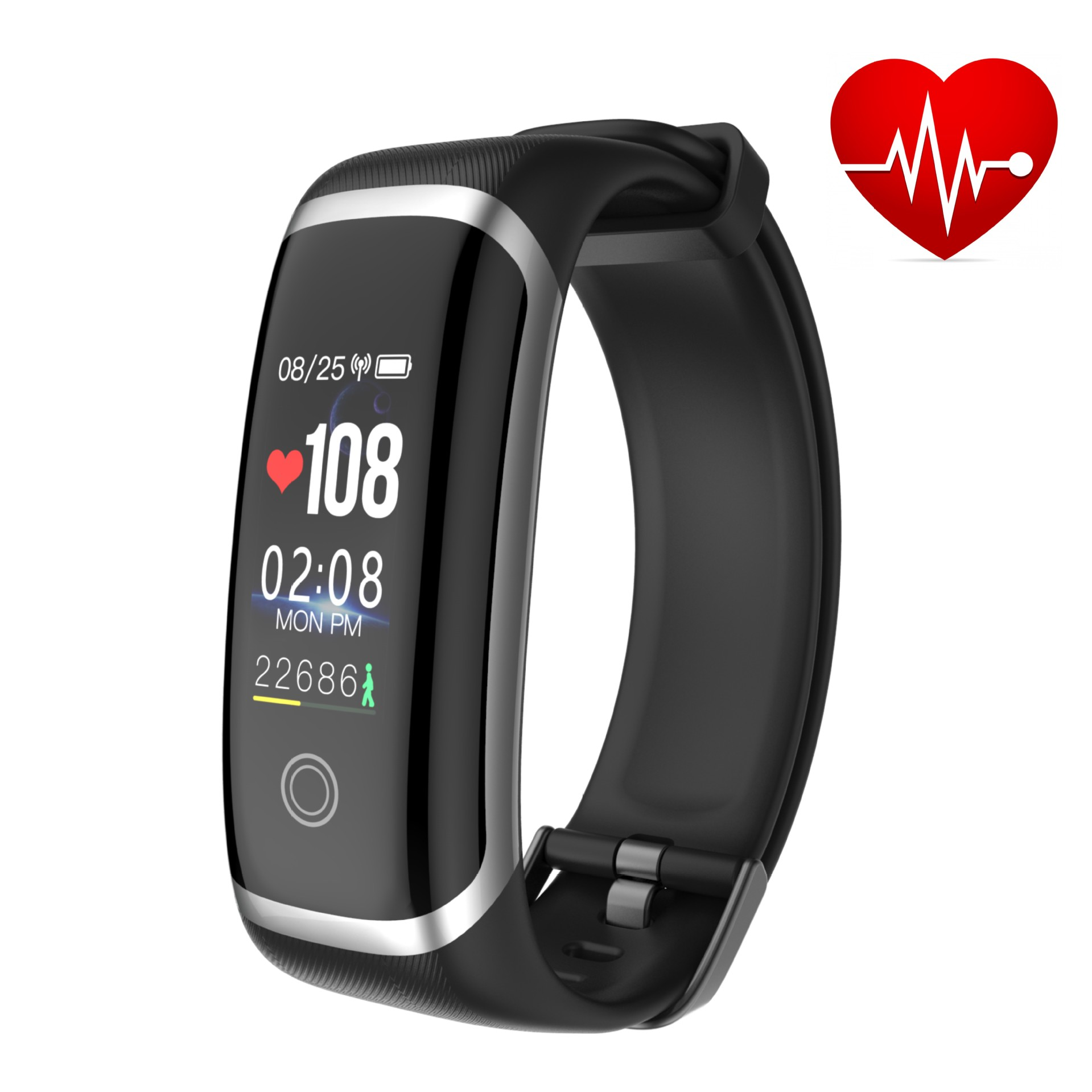M4 Smart Bracelet IP67 Waterproof Smart Watch Blood Pressure Heart Rate Monitor Calorie Pedometer Information Reminder Dropship