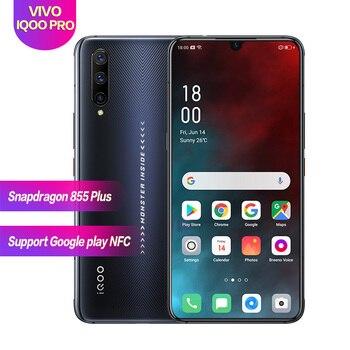 "Vivo IQOO pro 4G 6.41""Snapdragon 855 Plus Super AMOLED Support NFC 4500mAh 1080*2340 flash charging 4cameras Face+Fingerprint ID"