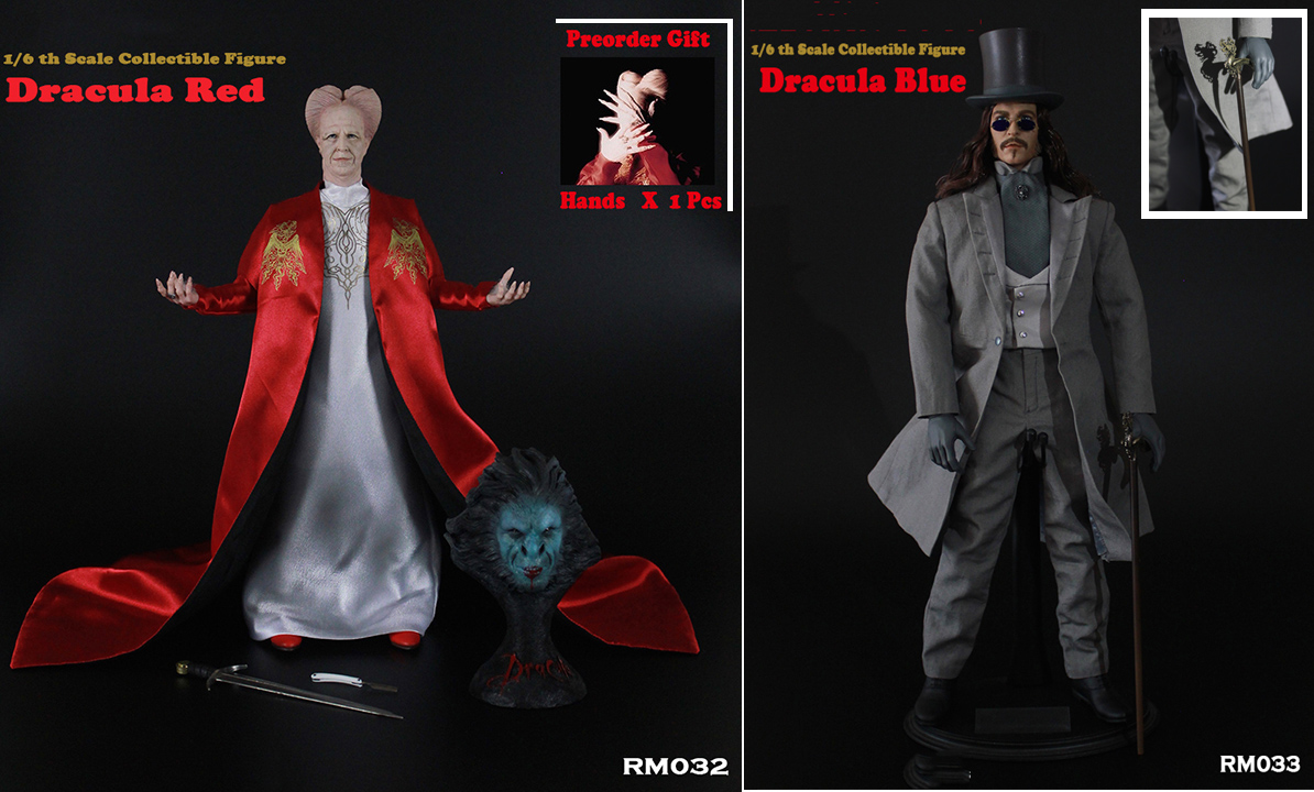 1/6 Scale Collectible Full Set Figure Dracula Red/Dracula Blue Version Action Figure Model For Fans Colletion Gifts