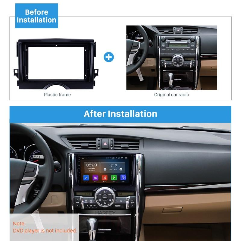 Car Stereo Radio CD Player Dash Installation Mounting Kit Trim Panel Bezel
