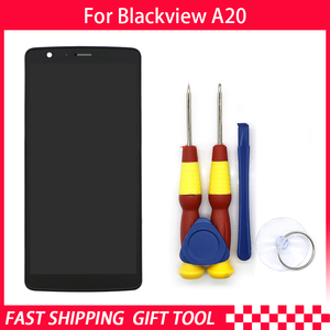 Image 3 - Original Touch Screen LCD Display For Blackview A20 Digitizer Assembly With Frame Replacement Parts+Disassemble Tool