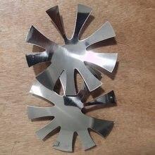 Coupe-ongles français en acier inoxydable, 1 pièce, pointe de ligne, coupe-bordure, forme de style, modèle d'art des ongles, outils Te #88
