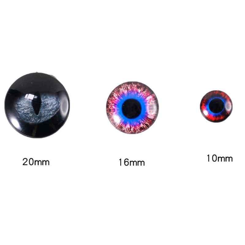 Все размеры DIY игрушечные фигурки кошка круглые глаза полимерная форма ювелирные изделия инструменты