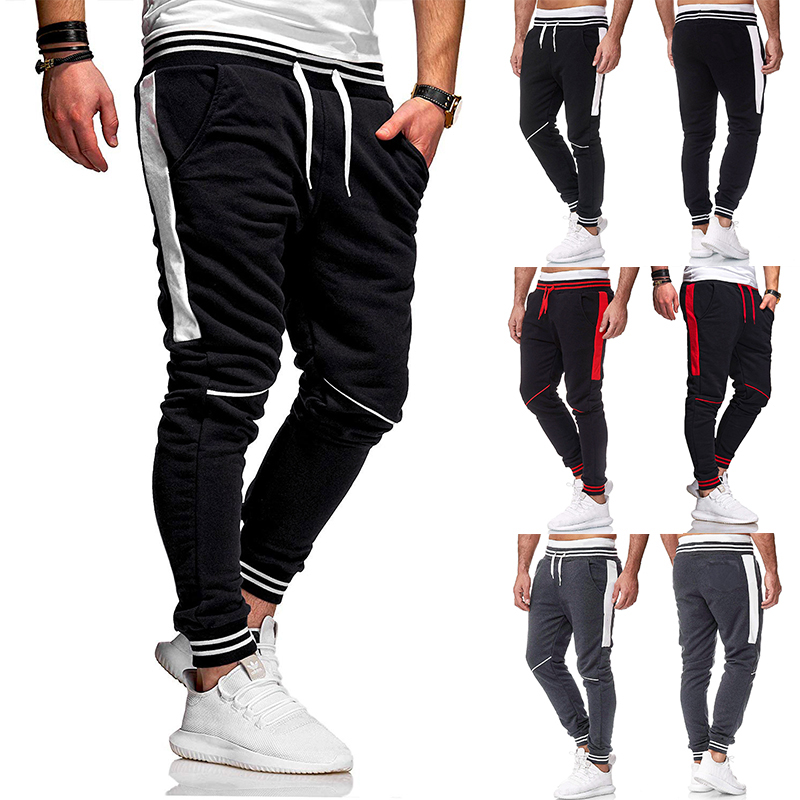 New Men Joggers Sweatpants Sportswear Jogger Pants Men Casual Trousers Men Track Pants