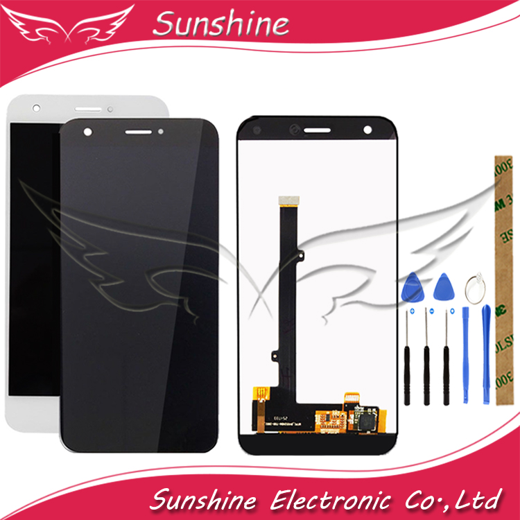 Sunshine LCD For ZTE Blade A512 Z10 Full LCD Display With Touch Screen Sensor Digitizer Complete Assembly