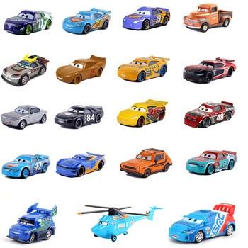 Hot Sale Cars Dsiney Pixar cars 3 Lightning McQueen Mater Ramirez Diecast Metal Alloy Model Toy Car For Children Christmas Gifts