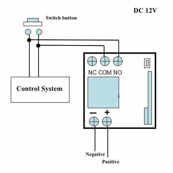 LEORY 315 433mhz の Dc 12V 10A のボタンワイヤレストランスミッターリモコンスイッチリレーレシーバー