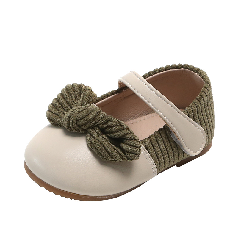 Baby Girls Cotton Bowknot Flowers Sandals 4