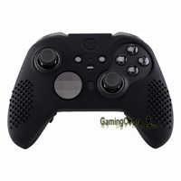 Black Soft Anti-Slip Silicone Cover Skins, Controller Protective Case for New Xbox One Elite Series 2