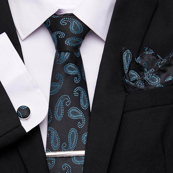 Luxury 7.5cm Mens Classic Tie 100% Silk Jacquard Woven Striped Cravatta Ties Man Bridegroom Business Necktie Formal Accessories