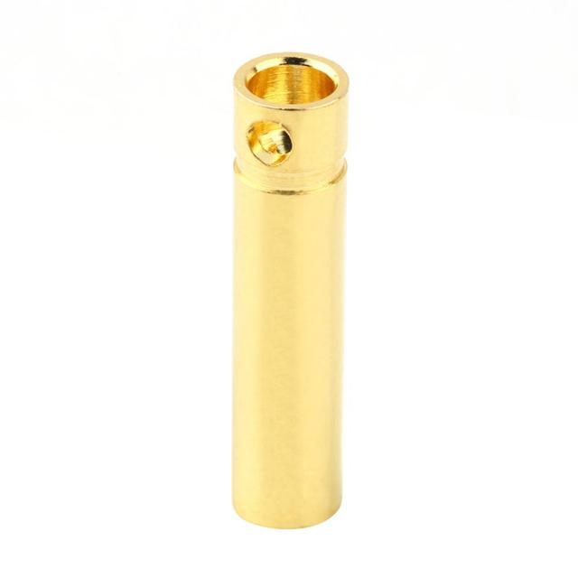 4.0mm Male&Femalel Banana gold Plug connectors For Battery ESC Motor Exquisitely Designed Durable Gorgeous 2