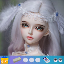 Fairyland minifee rendia boneca 1/4 bjd conjunto completo resina brinquedos para crianças presentes surpresa para meninas bola articulada boneca fl mnf luts dm