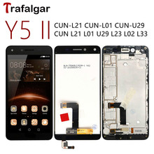 For Huawei Y5 II LCD Display Y5II CUN U29 L21 Touch Screen CUN L01 L02 L03 L22 L23 L33 For Huawei Y5 II Display With Frame